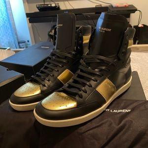 Saint Laurent Hi Top Sneakers
